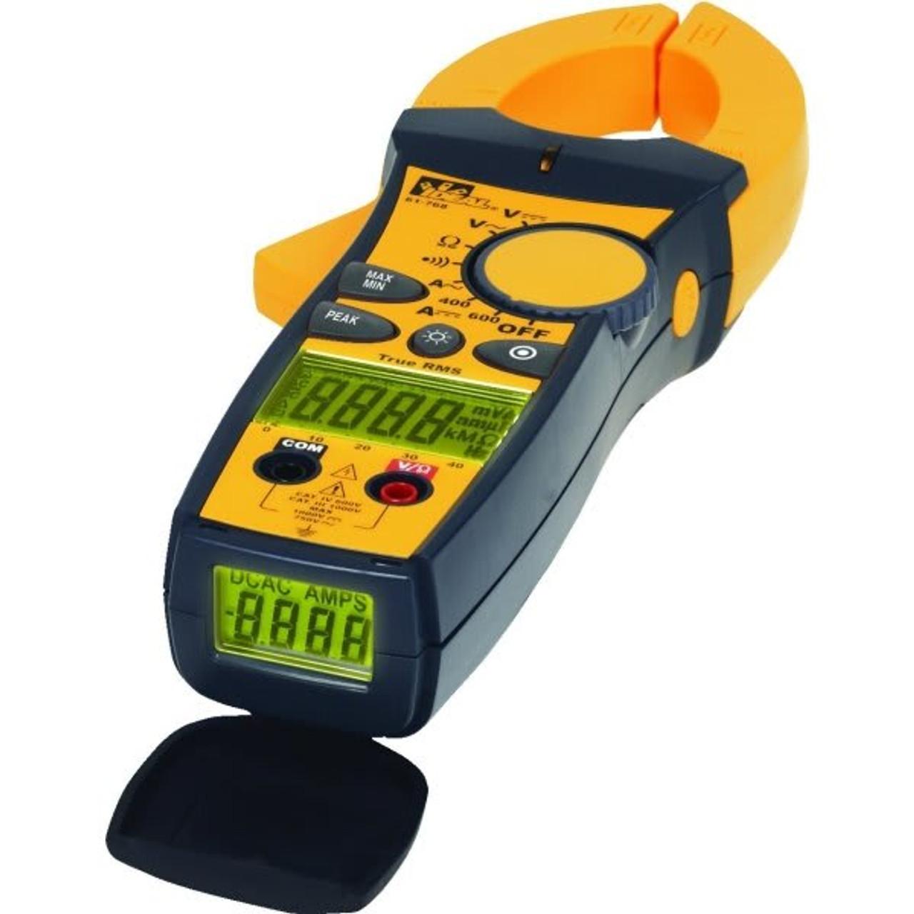 Ideal Tightsight 600 Amp Ac  Dc Clamp Meter 300543