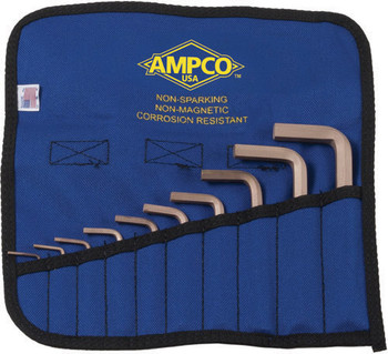 10Pc Roll Case Velcro Closure