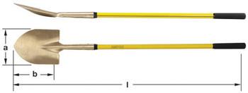 Shovel Round Pt Long Handle