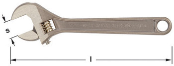 """Wrench, Adjustable 12"""" OAL"""