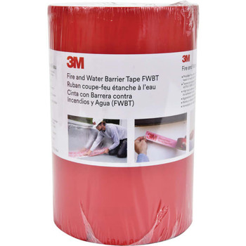 3M Fire And Water Barrier Tape, 8, Case of 4