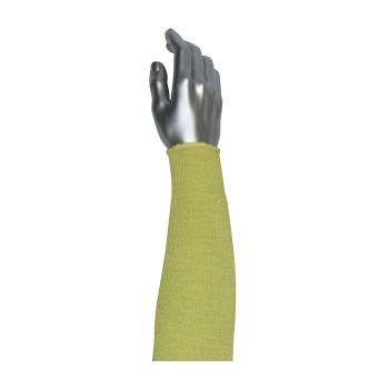 "Yellow 18"" Smart Fit Xrystal/Aramid Sleeve, 18 inch Sleeves with Xrystal Fiber"