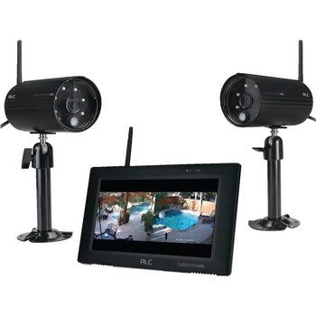 "ALC™ Observer 7"" Touchscreen Network Wireless Surveillance System With 2 Cameras 109083"