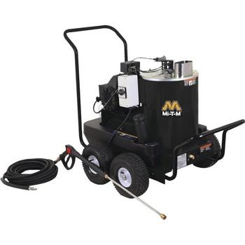 Mi-T-M 1,400 PSI Electric Hot Water Pressure Washer