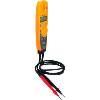 Fluke® Voltage, Continuity And Current Tester, Range 0-600 Volts, 0-1,000 Ohms