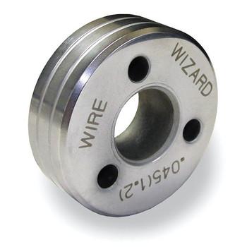 Drive Roll U-groove PFA .045in (1.1mm) hard chrome polished