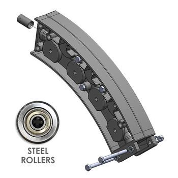 Wire Guide Module With Steel Wheels