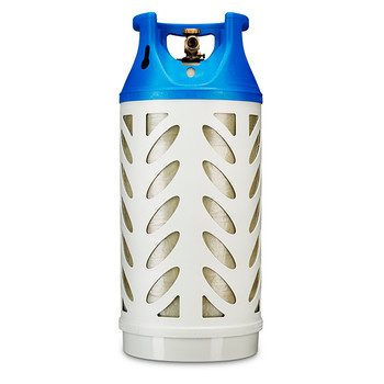 Fork Lift Truck Propane Cylinder, 31 Pound Capacity - Composite Material, Horizontal or Vertical Mount VC31C-MV1