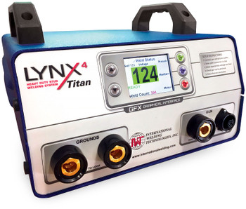 LYNX4 Titan GFX Heavy Duty Stud Welding System with Graphical Interface