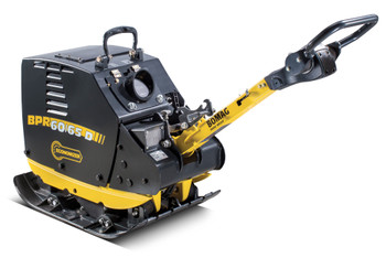 "Reversible Vibratory Plate - 29.5"" Plate, 1003 Lbs Weight, 13,500 Lbs Impact Force - Diesel / E-Start"