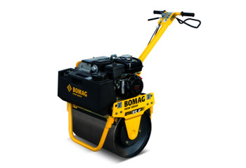 "Walk Behind Vibratory Roller - 22"" Roller, 355 lbs Weight, 2250 lbs Impact Force- Gasoline Powered"
