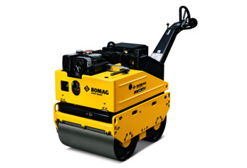 """Walk Behind Vibratory Rollers - 25.6"""" Roller, 1638 lbs Weight, 4950 lbs Impact Force - Diesel/E-Start/HY-drive"""