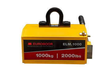 Industrial Lifting Magnet - 1000 kg, 2000 lbs Workload