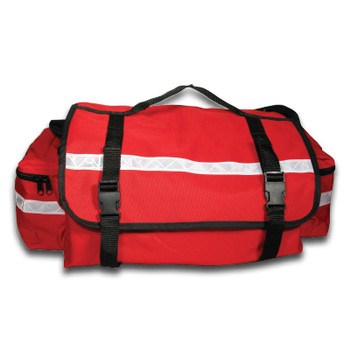 Red Trauma Bag with Supplies