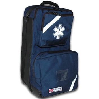 O2 / Trauma / AED Backpack (Navy)