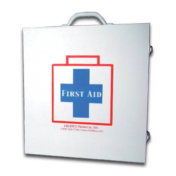 100 Person ANSI Metal First Aid Kit