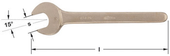 """Wrench, Open End 3-3/4"""""""