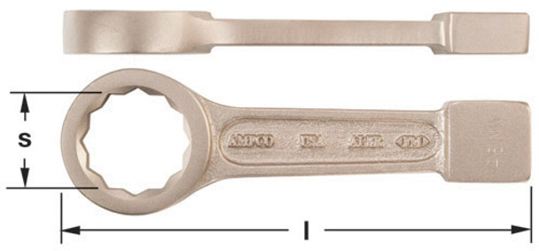 Wrench, Strike 12pt Box 1-11/16