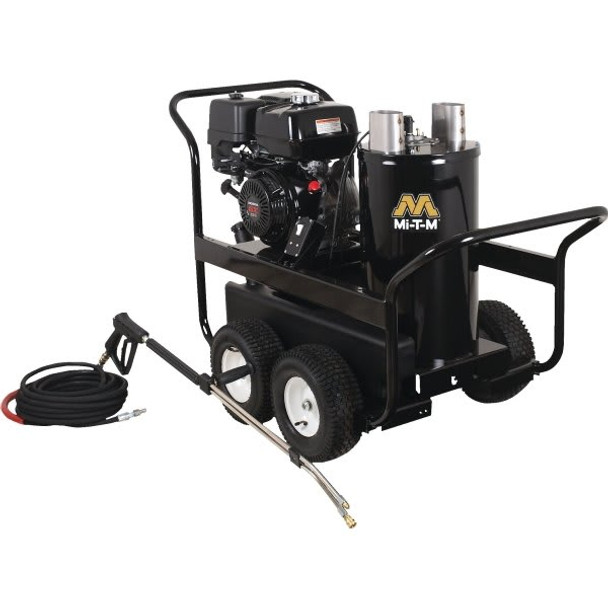Mi-T-M 3,000 PSI Gas Hot Water Pressure Washer