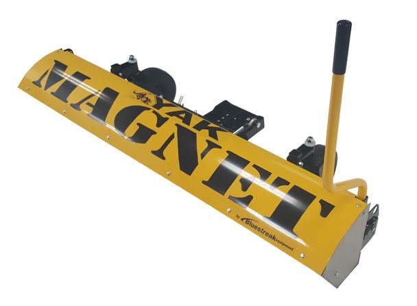 "Yak 66"" Front Mount UTV Plow Magnetic Sweeper"