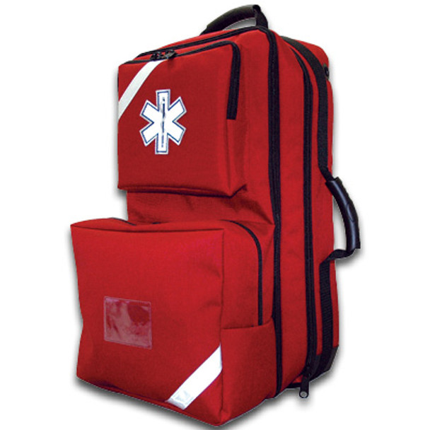 O2 / Trauma / AED Backpack (Red)