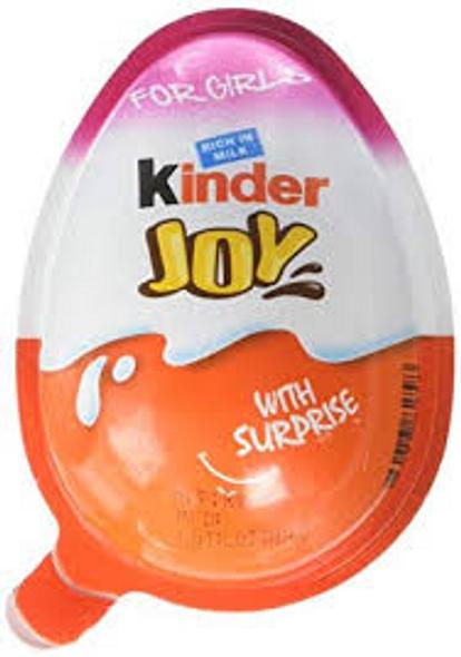 Kinder Joy Surprise Eggs for Girls
