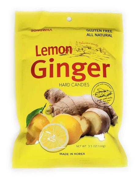 Lemon Ginger Candy 100g