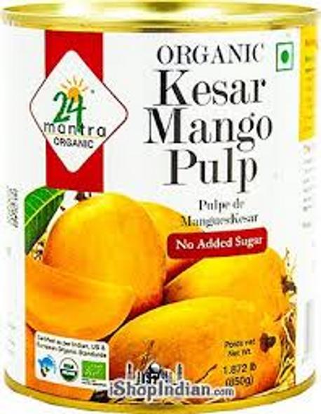 24 Mantra Kesar Mango Pulp