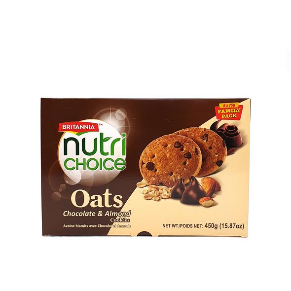 Britania NC Oats - Choco Almond FP