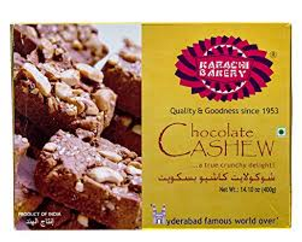 Karachi Choco Cashew Biscuits 400g