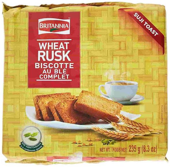 Britania Wheat Rusk 8.29oz
