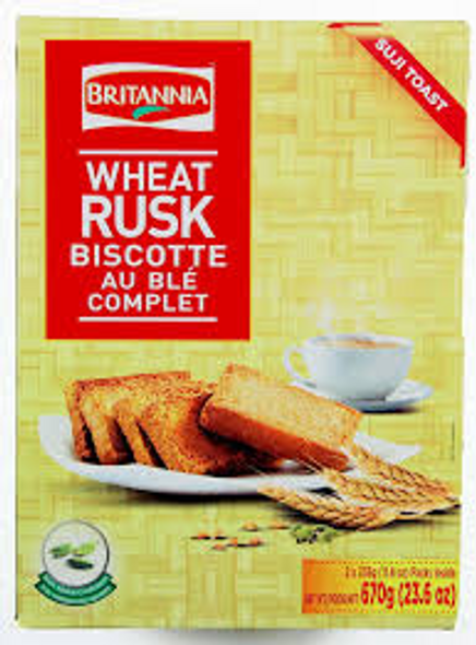 Britania Wheat Suji Rusk 21.51oz