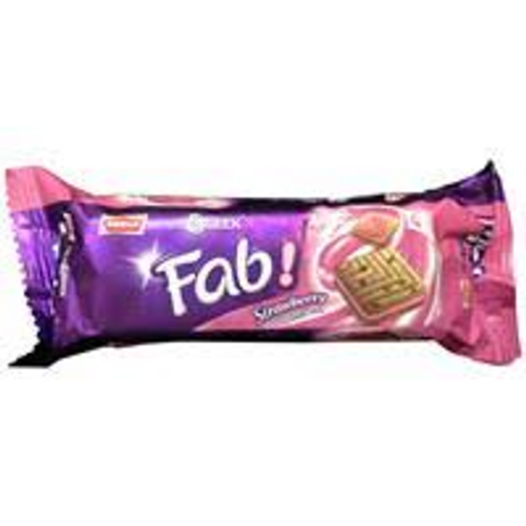 Parle HS Fab Strawberry 112g