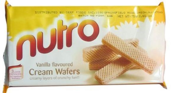 Nutro Wafer Orange 5.3oz