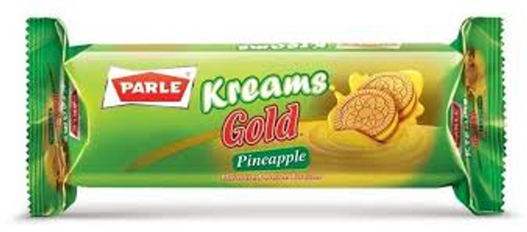 Parle Kreams Gold Pineapple 70g