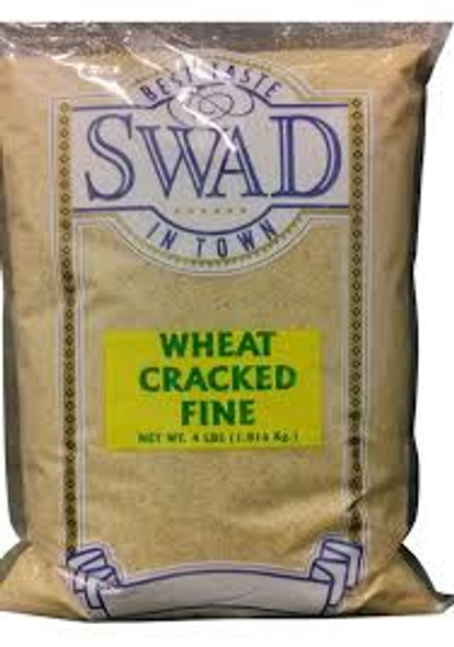 Swad Cracked Wheat Fine 4lb