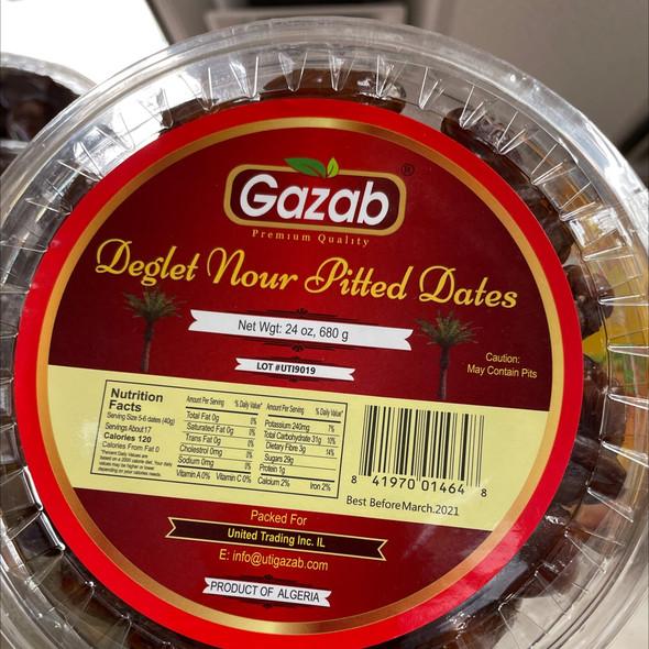 Gazab Pitted Dates 28oz