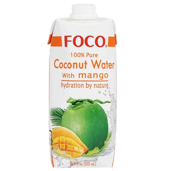 Foco Mango Coco Water 16.9oz