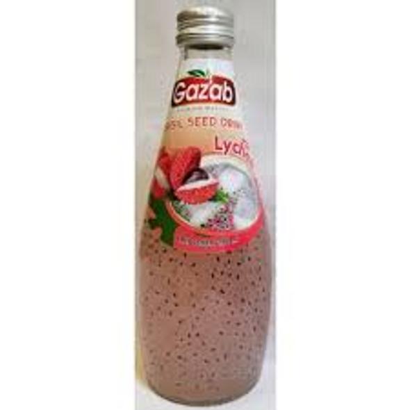Gazab Basil Drink - Lychee 290ml