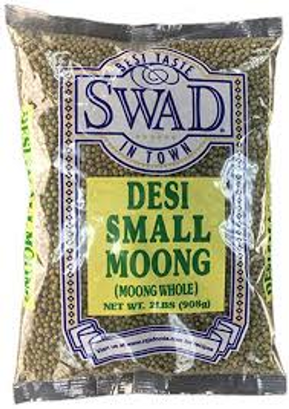 Swad Moong Whole Small 4lb