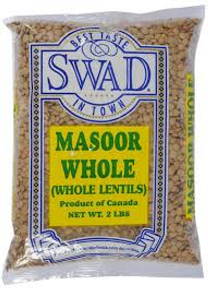 Swad Masoor Whole 2lb