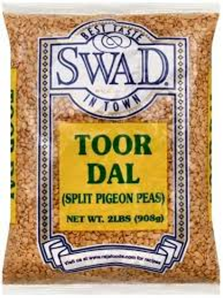 Swad Toor Dal Unoily 2lb