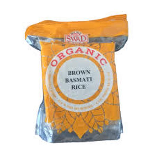 Swad Organic Brown Basmati 2lb