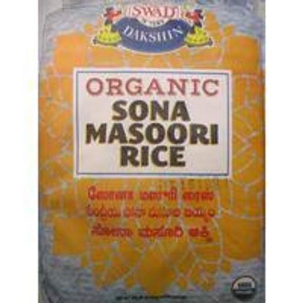 Swad Organic Sona Masoori 20lb