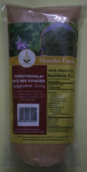 Shastha Thoothuvalai Rice Mix 200g