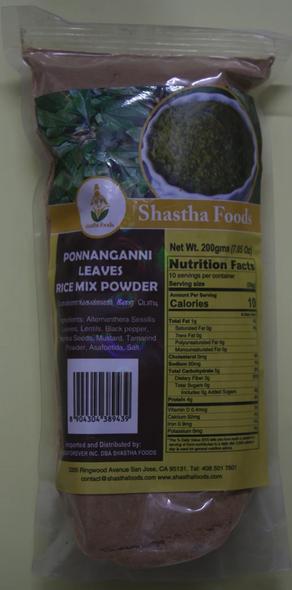 Shastha Ponnanganni Rice Mix 200g