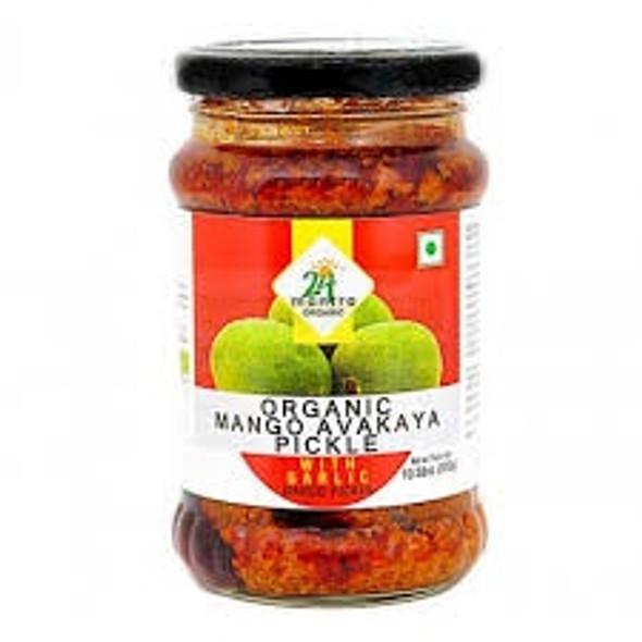 24 Mantra Mango Avakkai w Garlic 300g