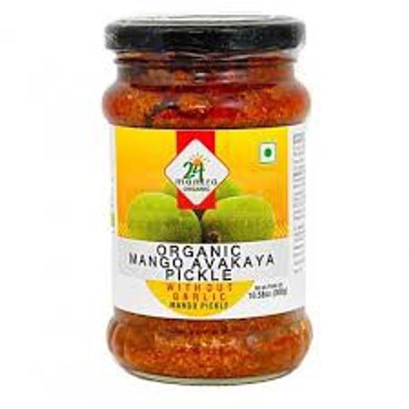 24 Mantra Mango Avakkai w/o Garlic 300g