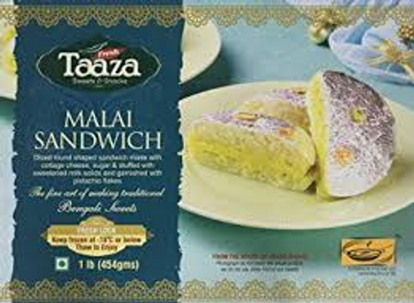AB Frz Taaza Malai Sandwich 454g