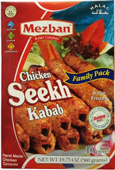Mezban Chicken Seekh Kabab FP